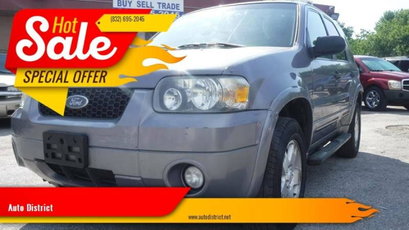 2007 Ford Escape for sale at Auto District in Baytown TX