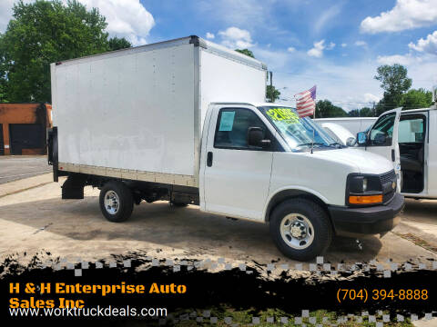 2016 Chevrolet Express Cutaway for sale at H & H Enterprise Auto Sales Inc in Charlotte NC