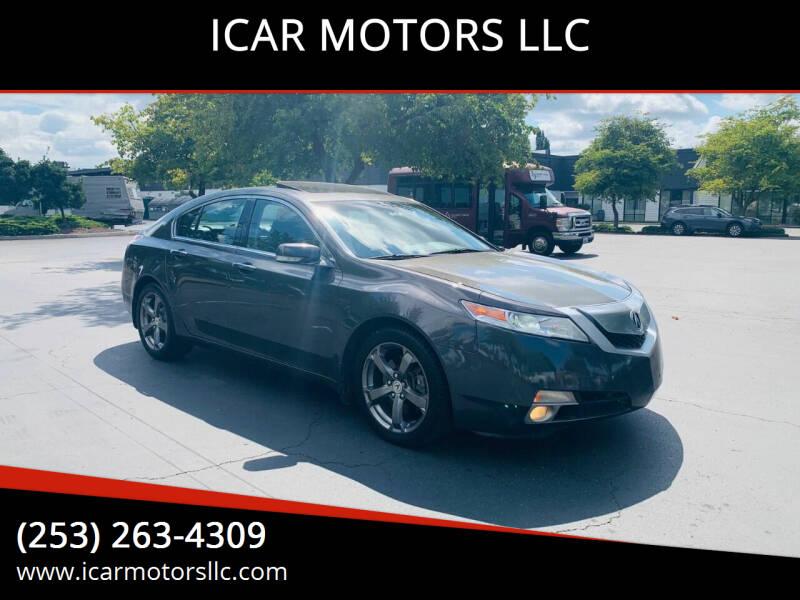 2010 Acura TL for sale at ICAR MOTORS LLC in Federal Way WA