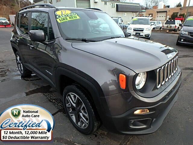 2017 Jeep Renegade for sale at Jon's Auto in Marquette MI
