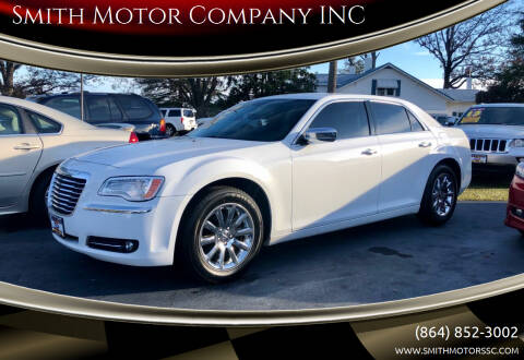 2012 Chrysler 300 for sale at Smith Motor Company INC in Mc Cormick SC
