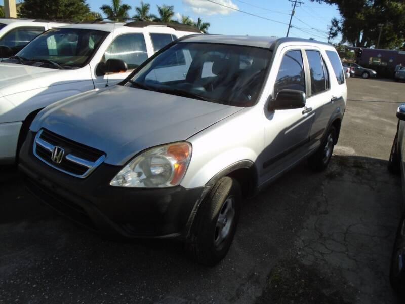 2004 Honda CR-V for sale at Bargain Auto Mart Inc. in Kenneth City FL
