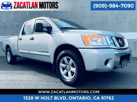 2008 Nissan Titan for sale at Ontario Auto Square in Ontario CA