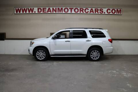 2016 Toyota Sequoia for sale at Dean Motor Cars Inc in Houston TX
