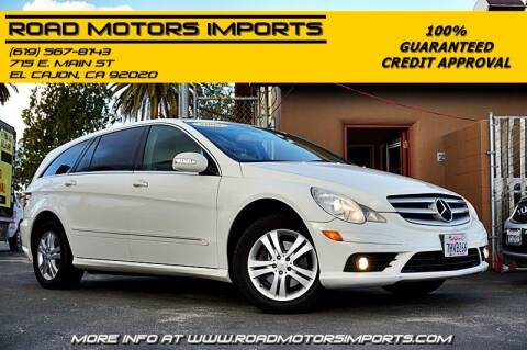 2008 Mercedes-Benz R-Class for sale at Road Motors Imports in El Cajon CA