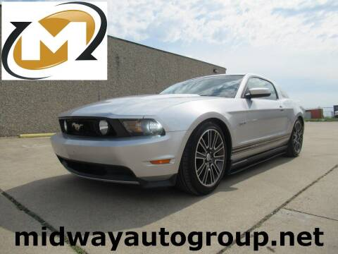 2011 Ford Mustang for sale at Midway Auto Group in Addison TX