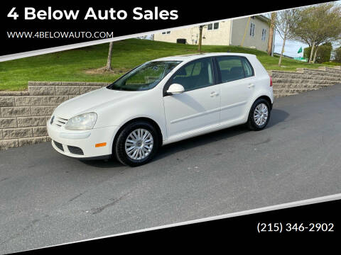 2008 Volkswagen Rabbit for sale at 4 Below Auto Sales in Willow Grove PA