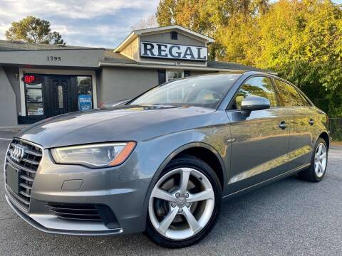 2016 Audi A3 for sale at Regal Auto Sales in Marietta GA