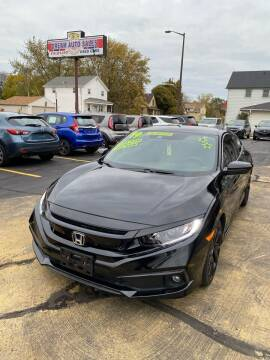 2019 Honda Civic for sale at Dream Auto Sales in South Milwaukee WI