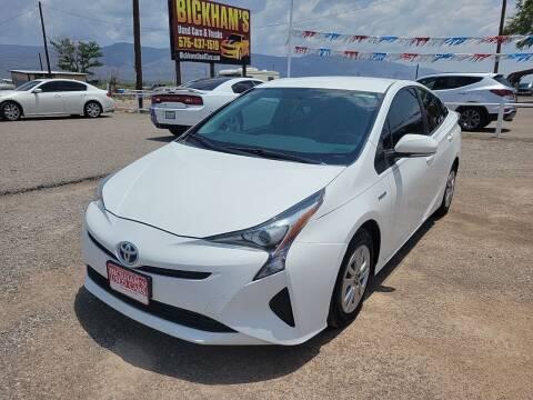 2016 Toyota Prius for sale at Bickham Used Cars in Alamogordo NM