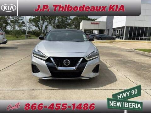 2019 Nissan Maxima for sale at J P Thibodeaux Used Cars in New Iberia LA