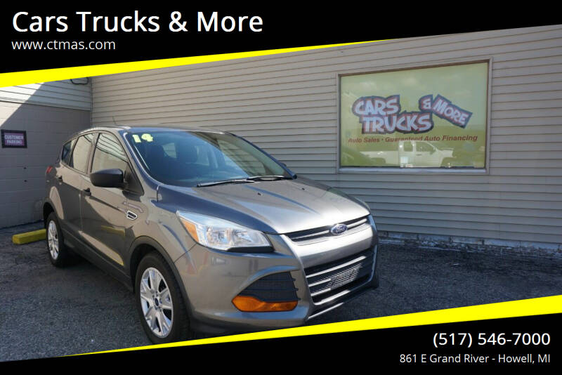 2014 Ford Escape for sale at Cars Trucks & More in Howell MI
