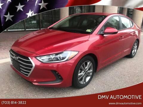 2017 Hyundai Elantra for sale at DMV Automotive in Falls Church VA