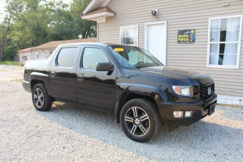 2012 Honda Ridgeline for sale at Auto Force USA in Elkhart IN