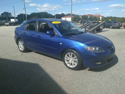 2008 Mazda MAZDA3 for sale at Kelly & Kelly Supermarket of Cars in Fayetteville NC