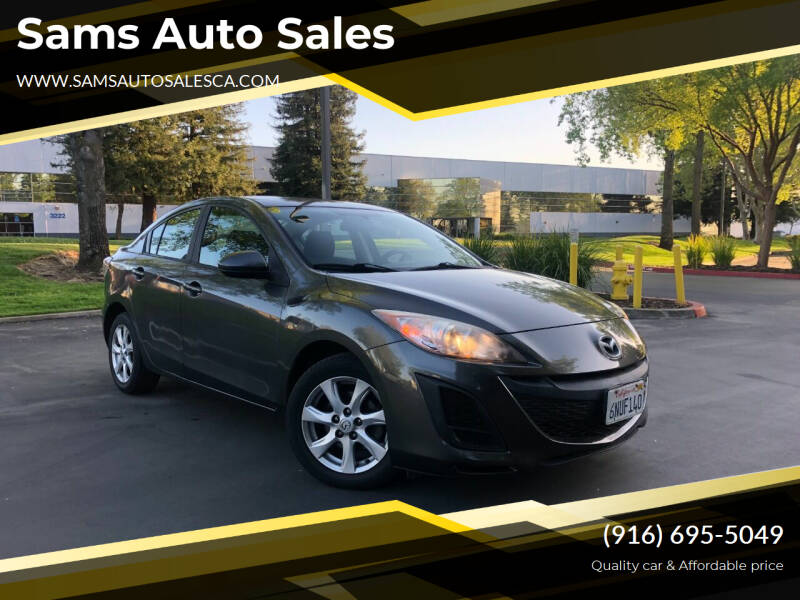2010 Mazda MAZDA3 for sale at Sams Auto Sales in North Highlands CA