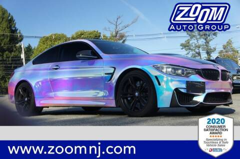 2015 BMW M4 for sale at Zoom Auto Group in Parsippany NJ