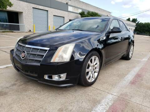 2008 Cadillac CTS for sale at ZNM Motors in Irving TX