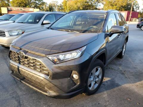 2020 Toyota RAV4 for sale at THE TRAIN AUTO SALES & LEASING in Mauldin SC
