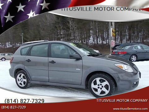 2007 Pontiac Vibe for sale at Titusville Motor Company in Titusville PA