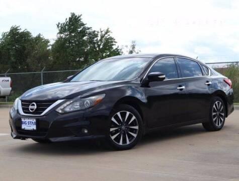 2016 Nissan Altima for sale at BIG STAR HYUNDAI in Houston TX