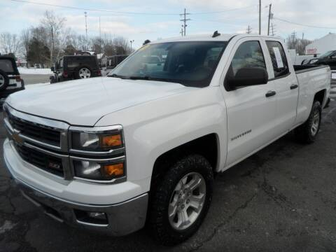 2014 Chevrolet Silverado 1500 for sale at CARSON MOTORS in Cloverdale IN