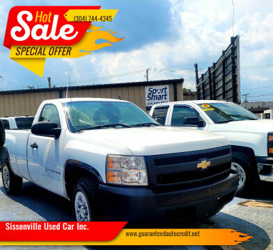 2007 Chevrolet Silverado 1500 Classic for sale at Sissonville Used Car Inc. in South Charleston WV