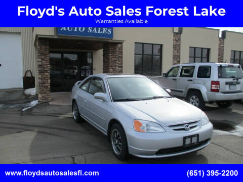 2003 Honda Civic for sale at Floyd's Auto Sales Forest Lake in Forest Lake MN