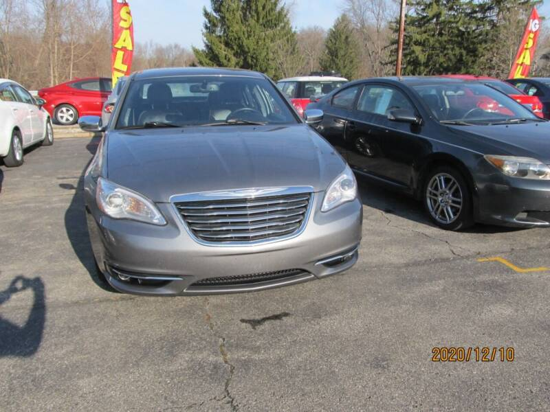 2012 Chrysler 200 for sale at Mid - Way Auto Sales INC in Montgomery NY