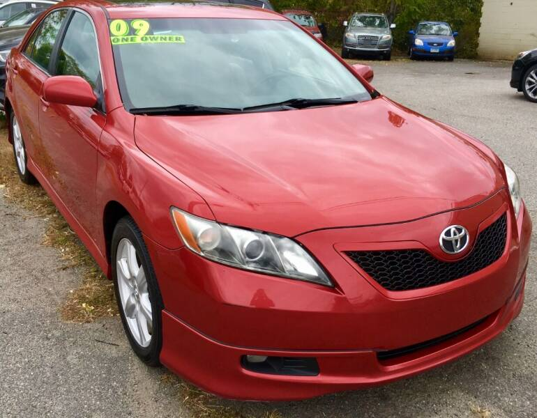2009 Toyota Camry for sale at Millennium Motors Sales in Revere MA
