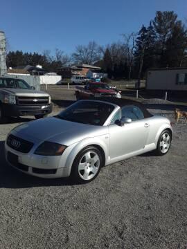 2001 Audi TT for sale at STAR CITY PRE-OWNED in Morgantown WV