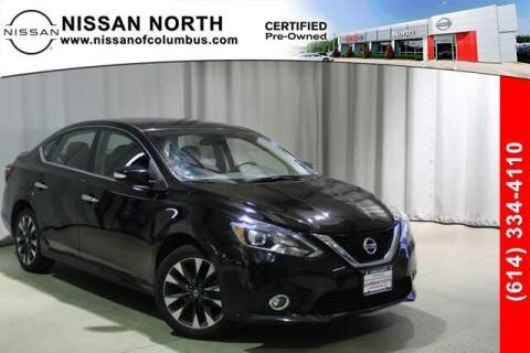 2017 Nissan Sentra for sale at Auto Center of Columbus in Columbus OH