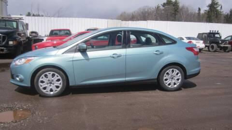 2012 Ford Focus for sale at Pepp Motors - Superior Auto in Negaunee MI