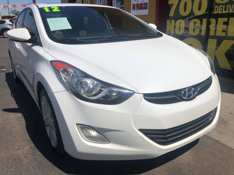 2012 Hyundai Elantra for sale at Sunday Car Company LLC in Phoenix AZ