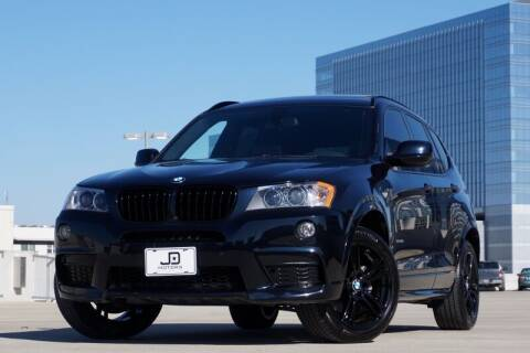 2013 BMW X3 for sale at JD MOTORS in Austin TX