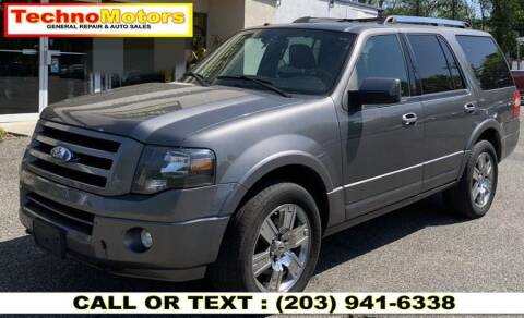 2010 Ford Expedition for sale at Techno Motors in Danbury CT