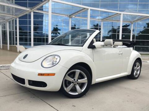 2007 Volkswagen New Beetle for sale at CARSTRADA in Hollywood FL