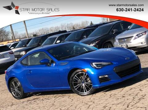 2014 Subaru BRZ for sale at Star Motor Sales in Downers Grove IL
