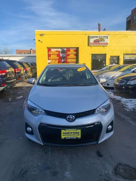2014 Toyota Corolla for sale at Hartford Auto Center in Hartford CT