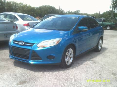 2014 Ford Focus for sale at ROYAL MOTOR SALES LLC in Dover FL