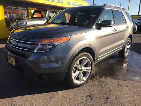 2014 Ford Explorer for sale at New Wave Auto Brokers & Sales in Denver CO