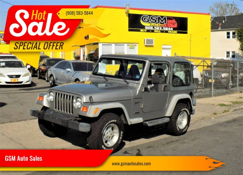 2002 Jeep Wrangler for sale at GSM Auto Sales in Linden NJ