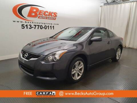 2013 Nissan Altima for sale at Becks Auto Group in Mason OH