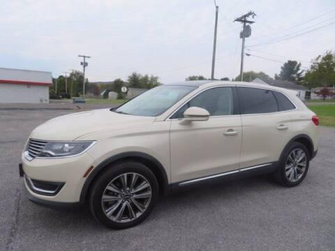 2016 Lincoln MKX for sale at DUNCAN SUZUKI in Pulaski VA
