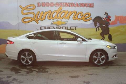 2015 Ford Fusion for sale at Sundance Chevrolet in Grand Ledge MI
