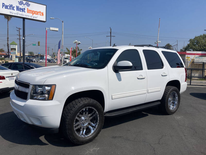 2011 Chevrolet Tahoe for sale at Pacific West Imports in Los Angeles CA