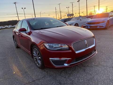 2017 Lincoln MKZ Hybrid for sale at M-97 Auto Dealer in Roseville MI