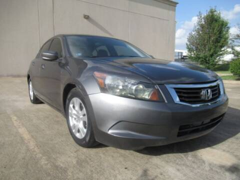 2010 Honda Accord for sale at AUTO VALUE FINANCE INC in Stafford TX