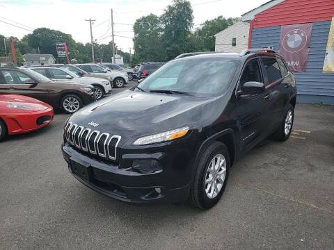 2014 Jeep Cherokee for sale at Top Quality Auto Sales in Westport MA