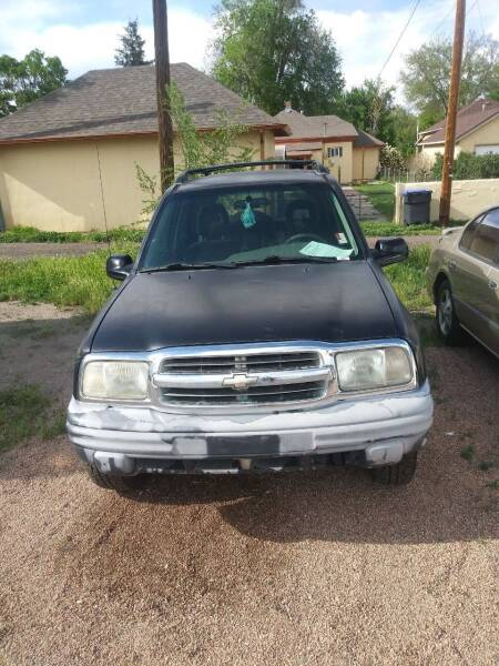 2002 Chevrolet Tracker for sale at PYRAMID MOTORS AUTO SALES in Florence CO